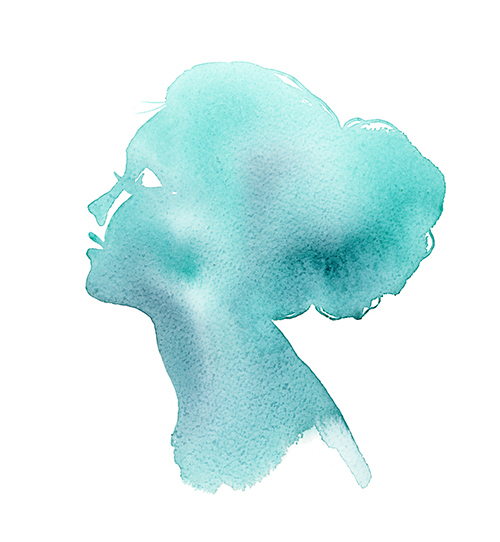 Light Watercolor painting